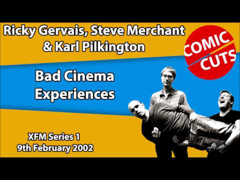 Ricky Gervais, Steve Merchant and Karl Pilkington - Bad Cinema Experiences