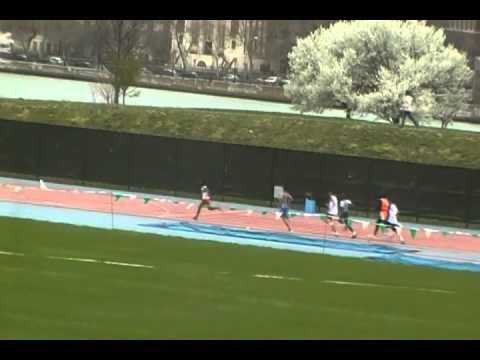 PSAL Season Opener 400m Icahn Stadium.MP4