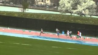 PSAL Season Opener 400m Icahn Stadium.MP4