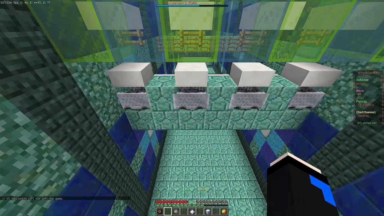 [Minecraft] 技4 TA 02:53.030