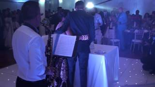 A Sky Full Of Stars (Coldplay, 2014) - Live Piano & Sax Wedding Entrance