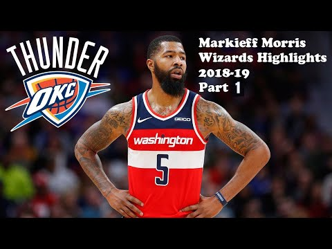 Markieff Morris Wizards Highlights 2018-19 | Part 1 [HD]