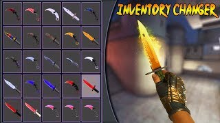 CS:GO INVENTORY CHANGER + SKIN CHANGER CHEAT LEGIT! SOURCE + DLL! 100% UNDETECTED