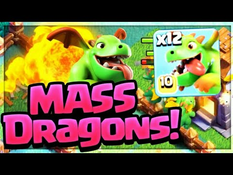 Mass Baby Dragon Attack Strategy | BH 5 Best Attack Strategy |Clash Of Clans Builder Base Farming