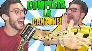 COMPLETA LA CANZONE CHALLENGE!