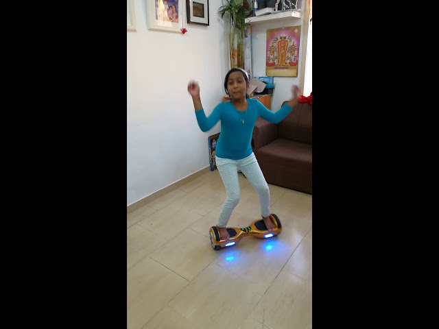 Samantha challenge on havour board