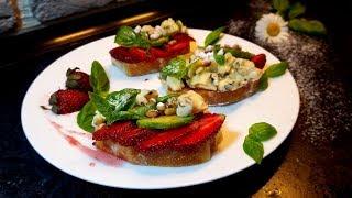 КОРОЛЕВСКАЯ БРУСКЕТТА! классическая итальянская закуска
