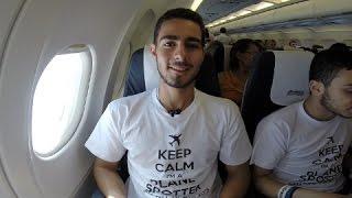 Blog from FL340   Corfu-Skiathos Spotting Trip   Aegean Airlines ex-CY A320
