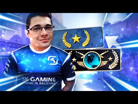 CALL de GLOBAL no OURO - Montei a SK GAMING do OURO! (BRD COACH)