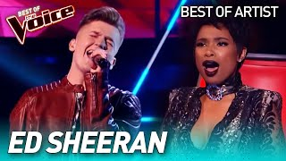 The best ED SHEERAN covers in The Voice