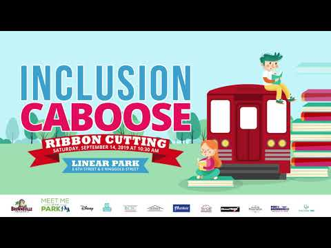 Inclusion Caboose Ribbon Cutting Ceremony - YouTube