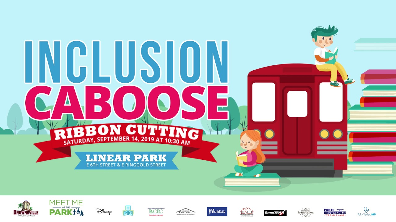 Inclusion Caboose Ribbon Cutting Ceremony