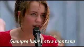 Hannah Montana - The Climb Sub Español