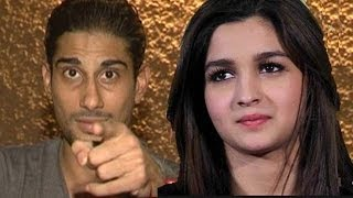 Prateik Lashes out on Alia and Karan Johar | Talks about RAVE