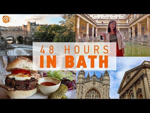 48 HOURS IN BATH | What To See, Do And Eat