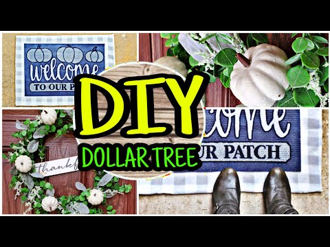Dollar Tree DIY Fall Porch Decor