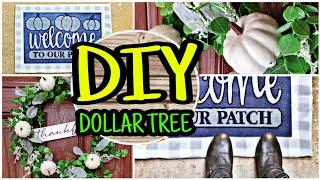 Dollar Tree DIY Fall Porch Decor