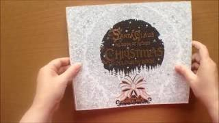 Santa Claus the Book of Secrets Christmas Colouring Book by Russell Ince Flipthrough