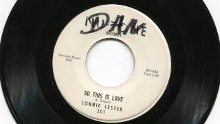 LONNIE LESTER - So this is love - NU-TONE