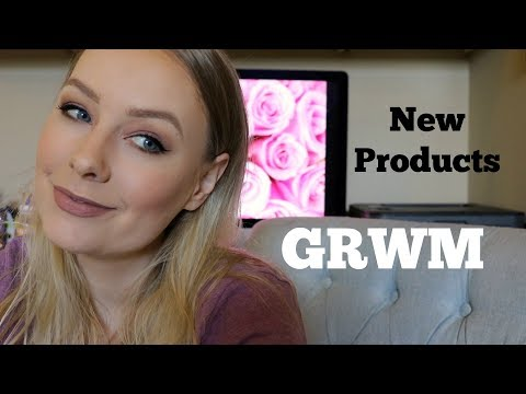GRWM Testing New Products