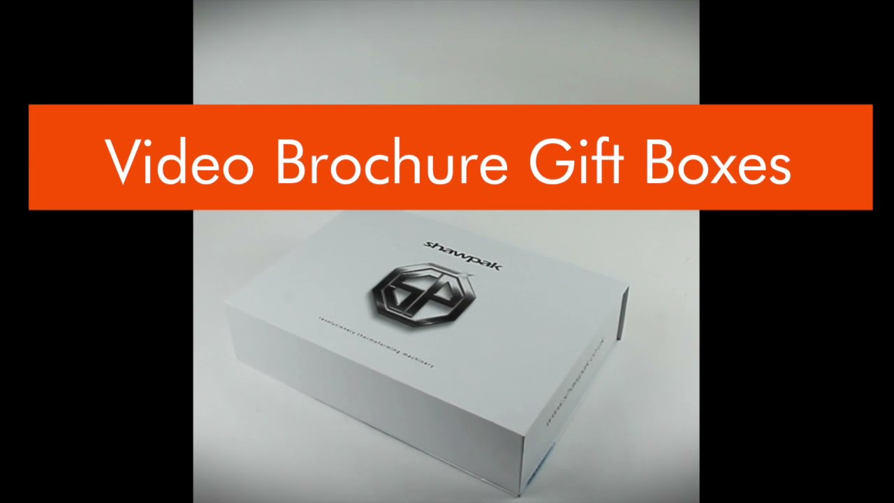 Connect With Your Clients; Cushion Video Brochures Embedded In A Luxury Box