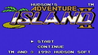 Adventure Island II - NES Gameplay
