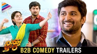 Ninnu Kori Back 2 Back Latest Comedy Trailers | Nani | Nivetha Thomas | Aadhi | Telugu Filmnagar