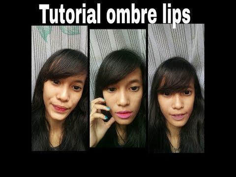cara-ombre-lips-nyentrikk-||-bahasa-indonesia-||-alay-,-