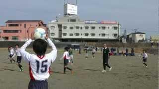 東源台FC 2012 U12青葉リーグ後期DIV2 第4節 VS 西豊田 前半