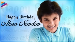 Happy birthday jr power star akira nandan | son of sardaar gabbar singh pawan kalyan