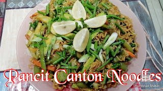 How to make Pancit Canton Noodles