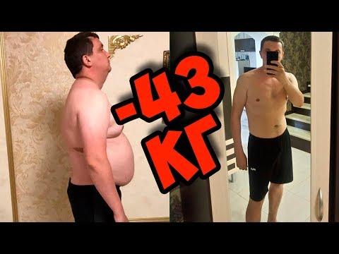 Похудеть на 40 кг за 4 месяца в домашних условиях