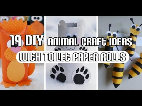 19 Diy Animal Craft Ideas With Toilet Paper Rolls