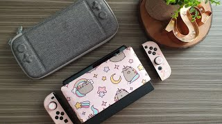 Unboxing : My Cute Pink Nintendo Switch Accessories.. so far.. (2019)