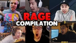 A Rainbow Six Siege RAGE Compilation (ft. Streamers)