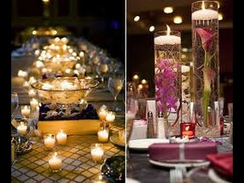 Ideas de centro de mesa para boda youtube - Ideas mesas de centro ...