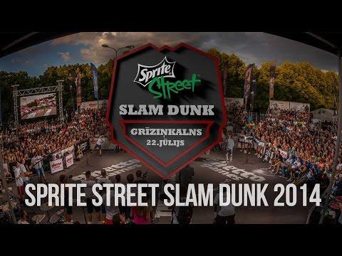 Sprite Street Slam Dunk 2014 | Video atskats un aizkadri