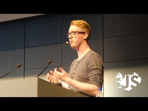 David Blurton: Full-stack JavaScript development with Docker - JSConf Iceland 2016