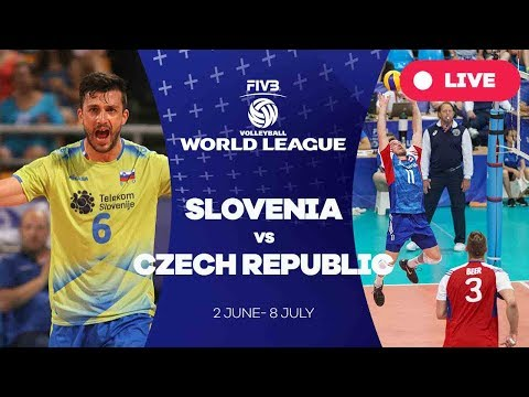 Slovenia v Czech Republic - Group 2: 2017 FIVB Volleyball World League