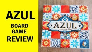 AZUL Board Game Review & Runthrough - The Most Beautiful Tile Laying Game Ever