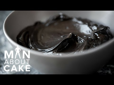 how-to-make-all-natural-black-buttercream-|-man-about-cake-gothic-cake-tutorial