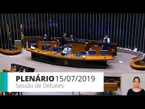 Plenário - Sessão de debates - 15/07/2019 - 14:00