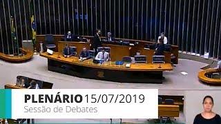 Plenário - Sessão do Plenário de debates - 15/07/2019 14:00