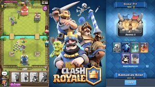 Clash Royale - COMEBACK FIGHT LEADS TO ARENA 2 UNLOCK!