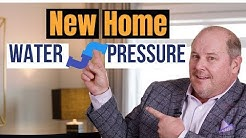 Water pressure in a new house: What home owners must know!