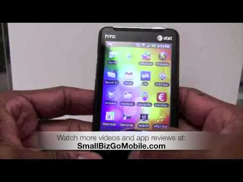 New HTC Aria Android smartphone overview