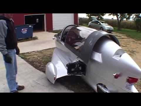 Silver Pulse Motorcycle. We go for a ride! 100 mpg ?