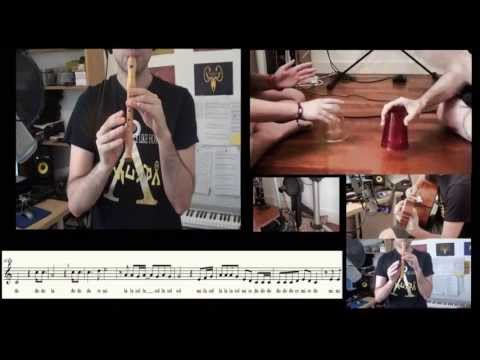 Cups  (Pitch Perfect)  When I'm gone - flute score and cover - Carlos Rodríguez Parrón