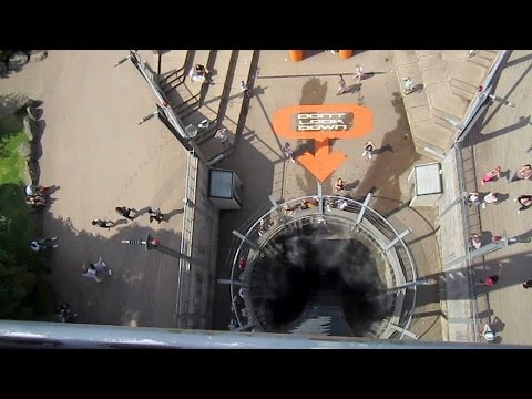Oblivion front seat on-ride HD POV Alton Towers