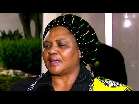 ANC NEC members pay tribute to Edna Molewa